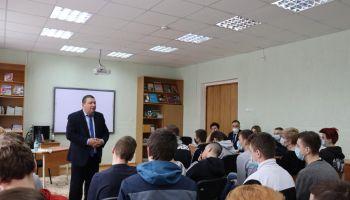 Встреча Е.Г. Миткевичем